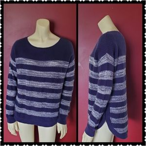 🚩NOW ONLY $15 🚩Caslon striped Sweater small